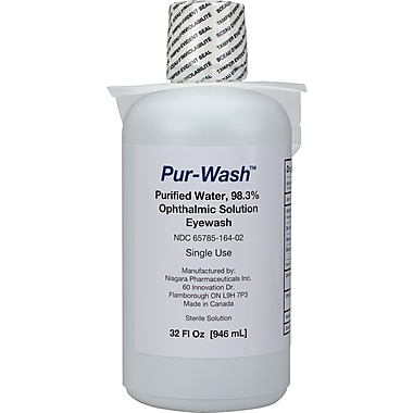 First Aid Only™ Eye Wash, 32 oz