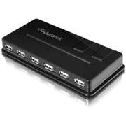 Aluratek 10-Port USB 2.0 Hub with AC Adapter