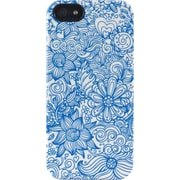 Linear Floral Blue iPhone 5 TS Deflector