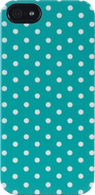 Mini Dots Teal iPhone 5 TS Deflector