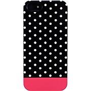 Uncommon Mini Black Dots Fuschia iPhone 5 Capsule
