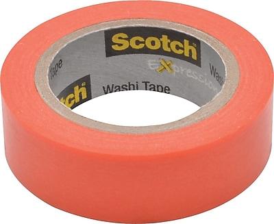 Scotch® Expressions Washi Tape, Pastel Pink, 3/5