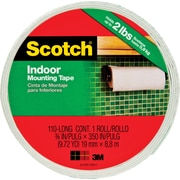 "Scotch® Permanent Heavy Duty Mounting Tape, 3/4"" x 9.7 yds, 1"" Core"