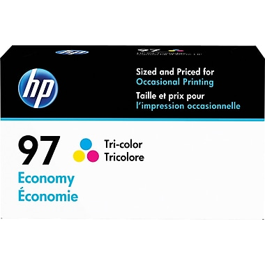 HP 97 Tricolor Economy Ink Cartridge (D8J32AN)