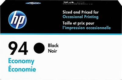 HP 94 Black Economy Ink Cartridge (D8J34AN)
