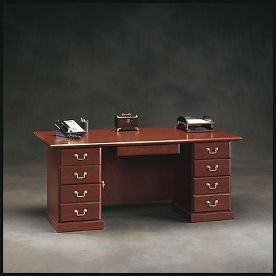 Sauder Heritage Hill Executive Desk Staples