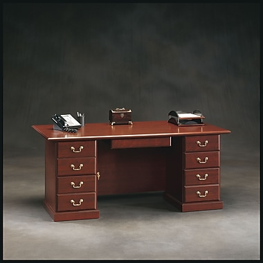 Sauder - Bureau de luxe de la collection Heritage Hill
