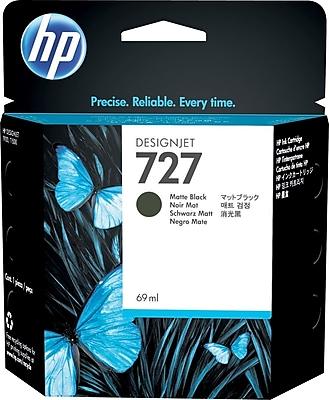 HP 727 69ml Matte Black Ink Cartridge (C1Q11A)