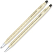 Cross® Classic Century 10K Gold-Filled Ballpoint Pen & Pencil Set, 0.7mm