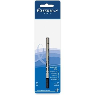 Waterman® Rollerball Pen Refill, Fine Tip, Blue