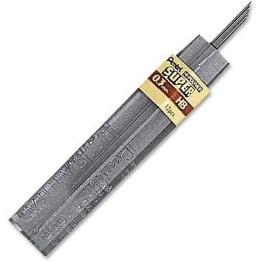 Pentel® – Mines en graphite Super Hi-Polymer, 0,3 mm, HB, pot/12