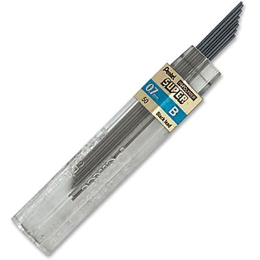 Pentel® – Mines en graphite Super Hi-Polymer, 0,7 mm, B, pot/12