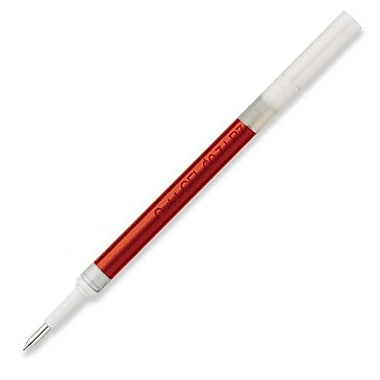 Pentel® Energel Pen Refill For Bl37, Bl57, Bl107 & Bl407, Fine 0.7mm Tip, Red