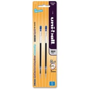 uni-ball® Jetstream™ Rollerball Pen Refills, Bold 1.0mm Tip, Blue, 2/Pack