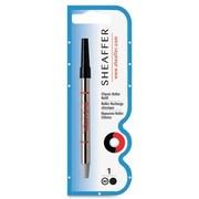 Sheaffer® Rollerball Classic Pen Refills, Medium 1.0mm Tip, Black