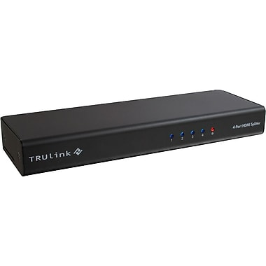 C2G TruLink(R) 4-Port HDMI(R) Splitter with HDCP(TM)