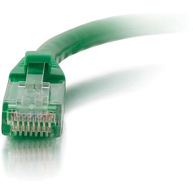 C2G – Câble réseau de raccordement UTP non blindé anti-accrochage de catégorie 5e, 7,6 m/25 pi, vert
