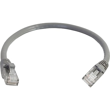 C2G Cat6 Snagless UTP Unshielded Network Patch Cable, 7.6m/25', Gray