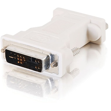 C2G DVI Male to HD15 VGA Female Video Adapter