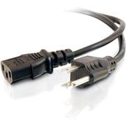 C2GMD – Câble d'alimentation universel de 18 AWG (NEMA 5-15P à IEC320C13)