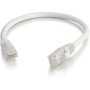 C2G – Câble réseau de raccordement UTP non blindé de catégorie 5e anti-accrochage, 30,4 m/100 pi, blanc
