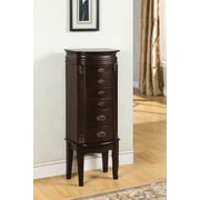 Powell® MDF/Wood Jewelry Armoire, Espresso