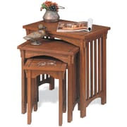Powell® 3 Piece Nested Table, Mission Oak