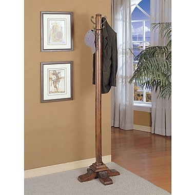 Powell® Coat Rack, Woodbury Mahogany