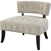Powell Furniture Lady Slipper Fabric Accent Chair, Cream (893-620)