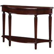 "Powell® 34 1/4"" x 46"" x 15"" Masterpiece Console Table, Warm Cherry"