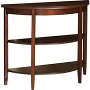 "Powell® Shelburne 30"" x 36"" x 13"" Demilune Console Table, Cherry"