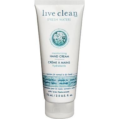 Live Clean™ – Crème hydratante pour les mains, parfum Fresh Water, 75 ml