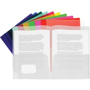 Staples® Twin Pocket Poly Portfolio