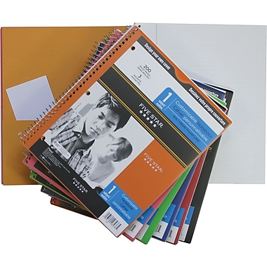 Five Star® - Cahier de notes Clearview