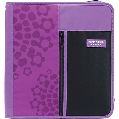 Five Star® Style Zipper Binder