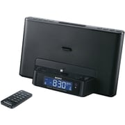 Sony Clock Radio & Speaker Dock for iPod and iPhone, Black