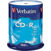 Verbatim, CD-R 80MIN 700MB 52X Branded 100pk Spindle