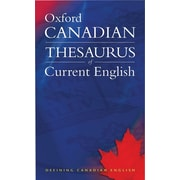Oxford Canadian Thesaurus Of Current English