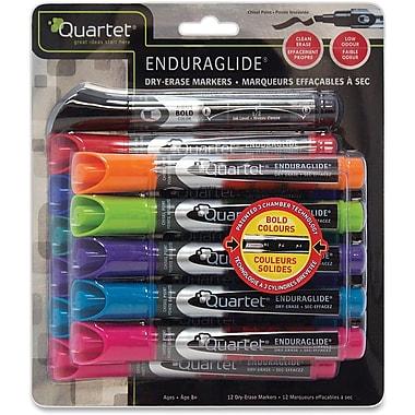Quartet® Enduraglide® Dry-Erase Markers & Acessories Kit, Chisel Tip