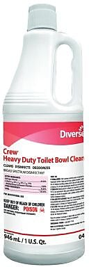 Diversey™ Crew® Heavy Duty Bowl Cleaner, 32 Oz., 12/Ct