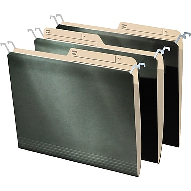 Find It® Tab View Hanging File Folder, Letter Size, 8-1/2