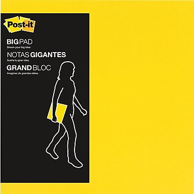 Post-it® – Grands blocs, 30/paq.