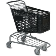 Traditional Plastic Shopping Cart, 72 liters
