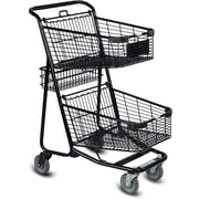 EXpress5050 Convenience Shopping Cart, Black