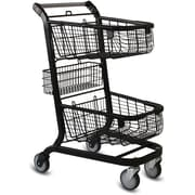 EXpress6000 Convenience  Shopping Cart w/ Child Seat, Metallic Gray
