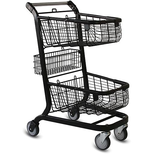 EXpress6000 Convenience Shopping Cart, Black