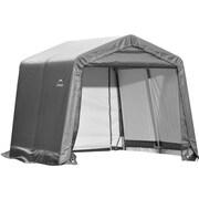 ShelterLogic® Peak Style Shed Storage Shelter, 10' x 8' x 8'
