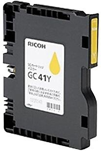 Ricoh Ink Cartridge, 405764 (GC41Y), Yellow