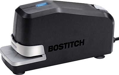 Stanley Bostitch® Automatic Electric Desktop Stapler, Black, 6/Carton