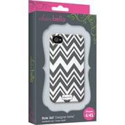 Elibrium 365 Case for iPhone4/4S, Zig Zag Gray